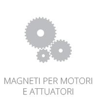 Magneti per motori e attuatori