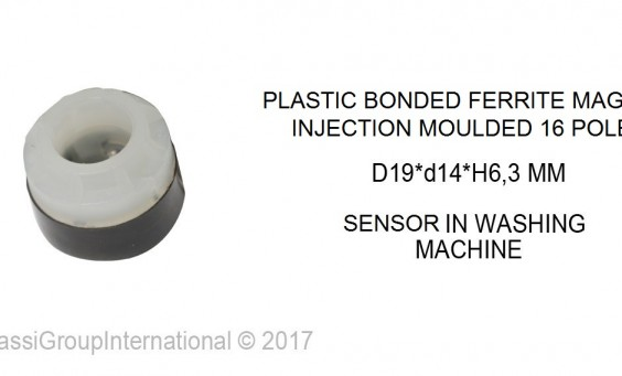 PLASTIC BONDED INJECTED FEERITE MAGNET
