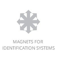 Magnets for identification systems