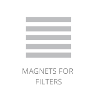 Magnets for filters