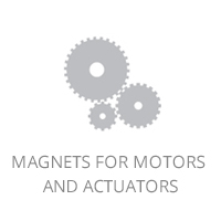 Magnets for motors and actuators
