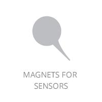 Magnets for sensors