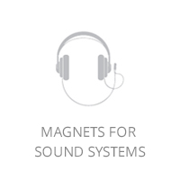 Magnets for sound systems