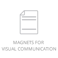 Magnets for visual communication
