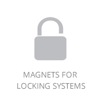 Magnets for locking systems